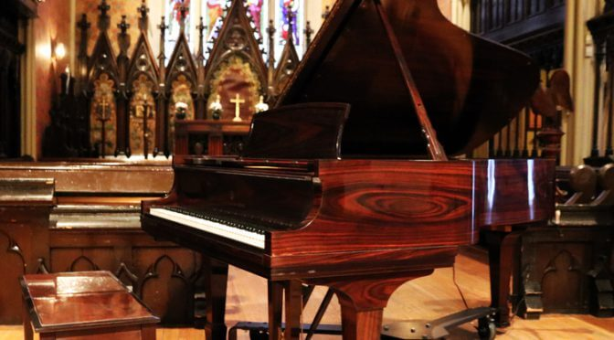 Sunday April 23rd, Piano Bravura Concert – Sheng Cai