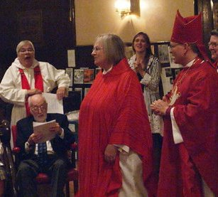 Photos from Joyce's ordination on Tuesday