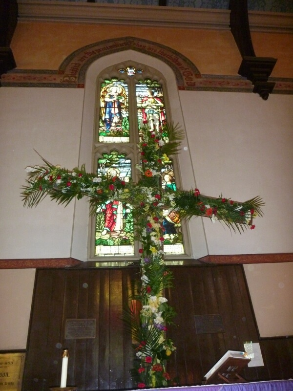 The flowered cross