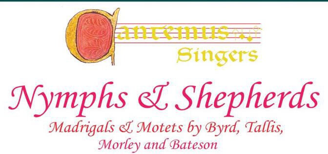 May 30 & 31 Cantemus Singers Concerts