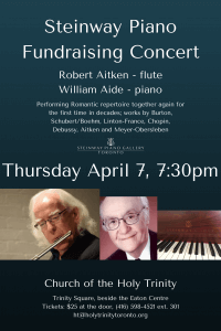 Steinway Piano Fundraising Concert