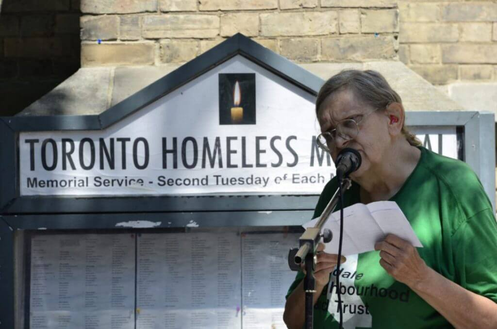 Toronto Homeless Memorial | Church of the Holy Trinity