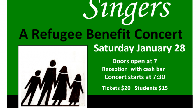 An Evening with the Marion Singers January 28