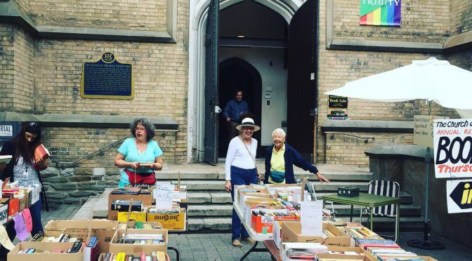 The Annual Holy Trinity Book Sale!