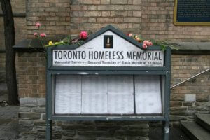 Toronto Homeless Memorial @ Church of the Holy Trinity | Toronto | Ontario | Canada