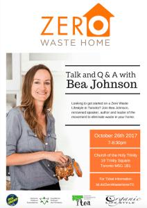 Bea Johnson of Zero Waste Home @ Church of the Holy Trinity