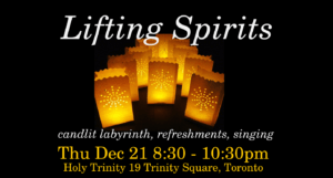 Lifting Spirits: Solstice Labyrinth Walk @ Church of the Holy Trinity