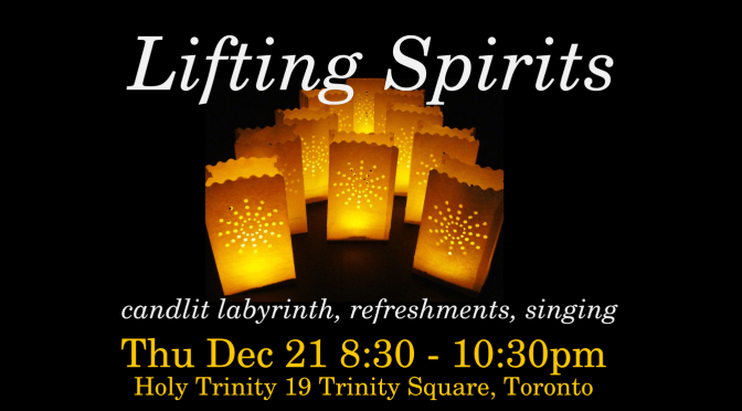 Lifting Spirits: Solstice Edition
