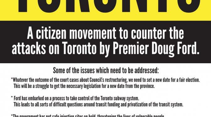 Defend Toronto